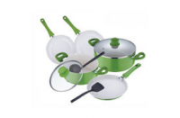 Ceramic non-stick cookware set